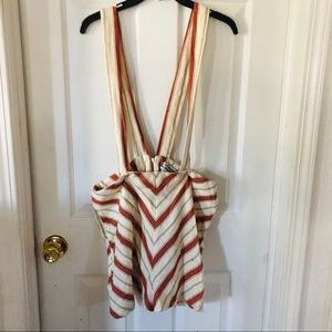 NWOT urban outfitters suspenders jumper size large